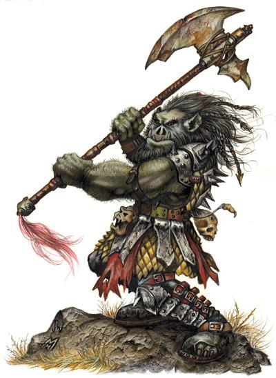 Mountain Orc